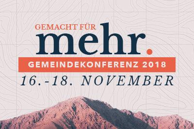 Gemeindekonferenz 2018