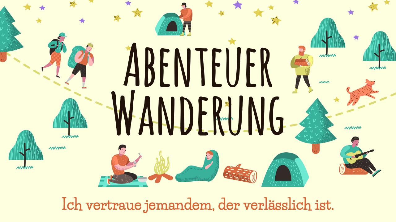 Abenteuer Wanderung