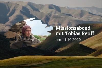 Missionsabend Tobias Reuff
